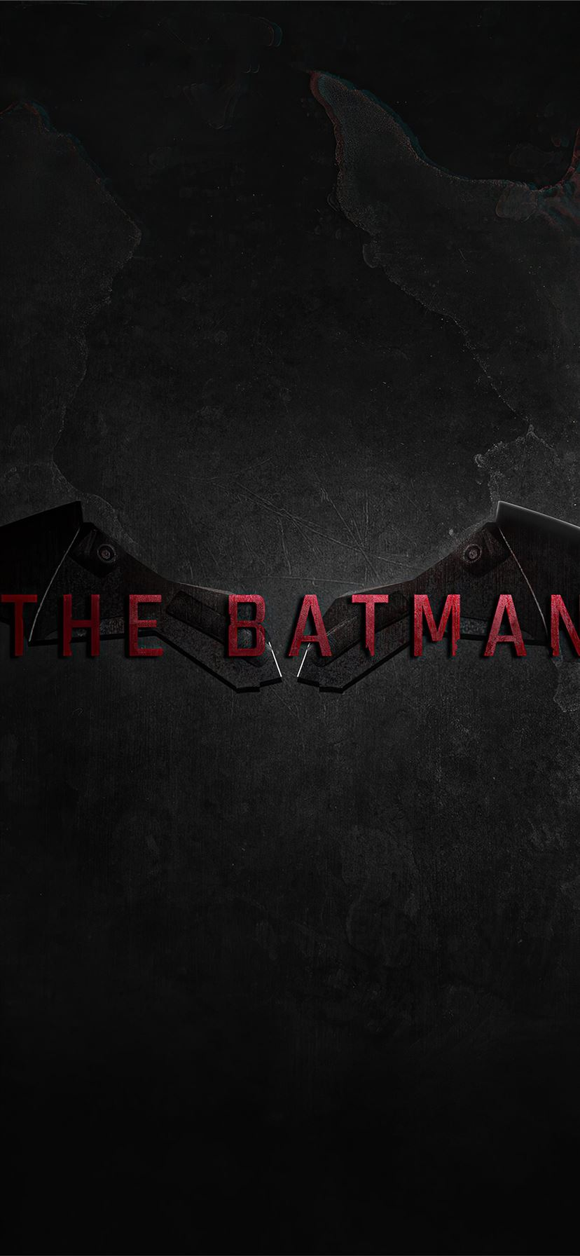 The Batman Movie Logo 4k Iphone Wallpapers Free Download