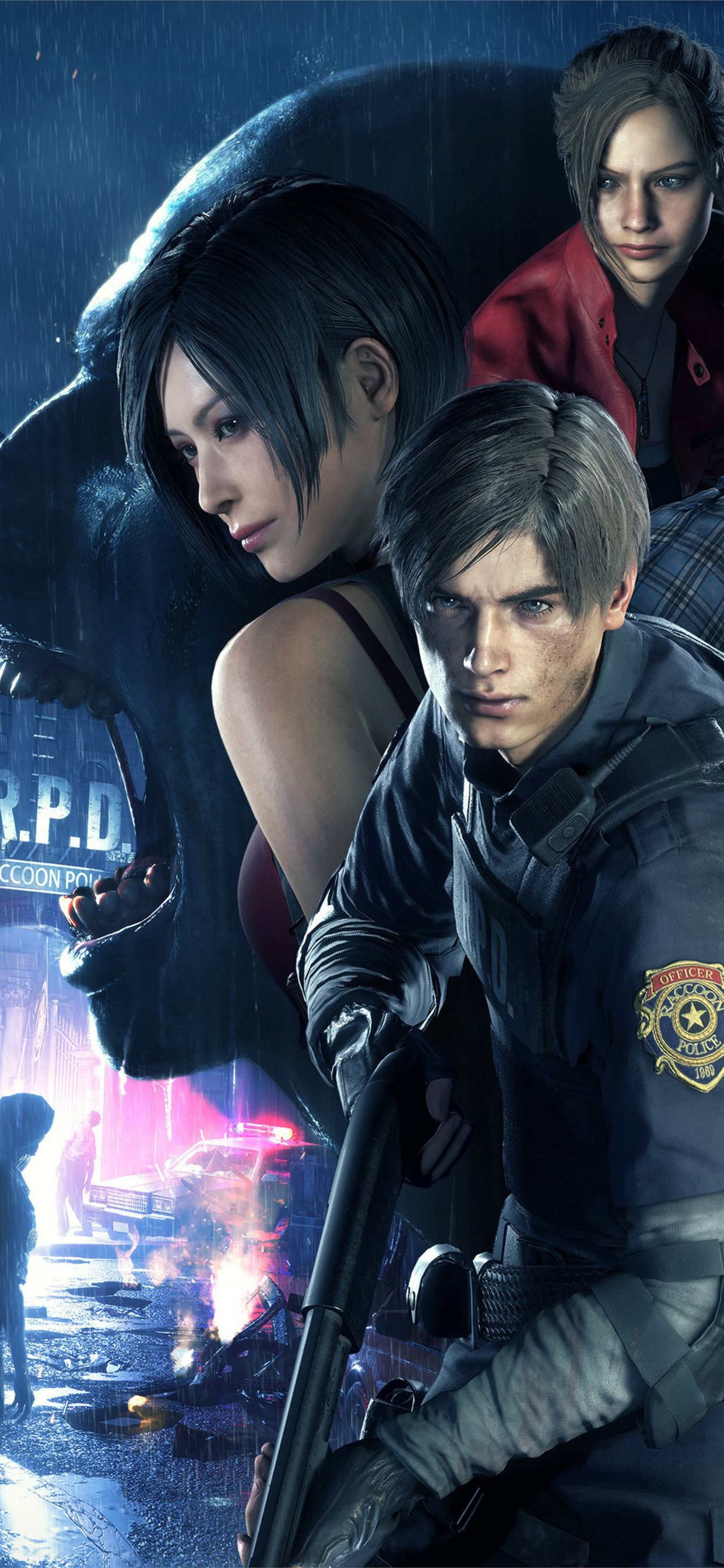 Resident Evil 2 4k Iphone Wallpapers Free Download
