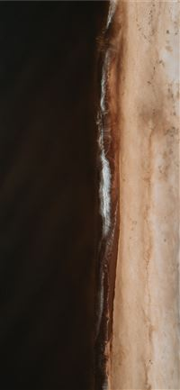 brown and white abstract painting iPhone 11 wallpaper