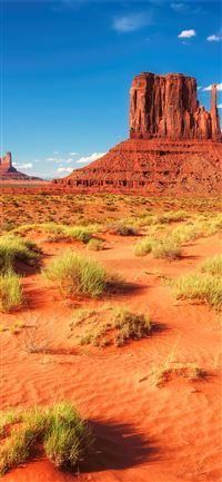 Earth Monument Valley ID 735033 Mobile Abyss iPhone 11 wallpaper
