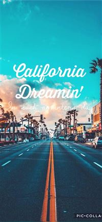 California LA Califórnia Dreamin The Mamas The iPhone 11 wallpaper