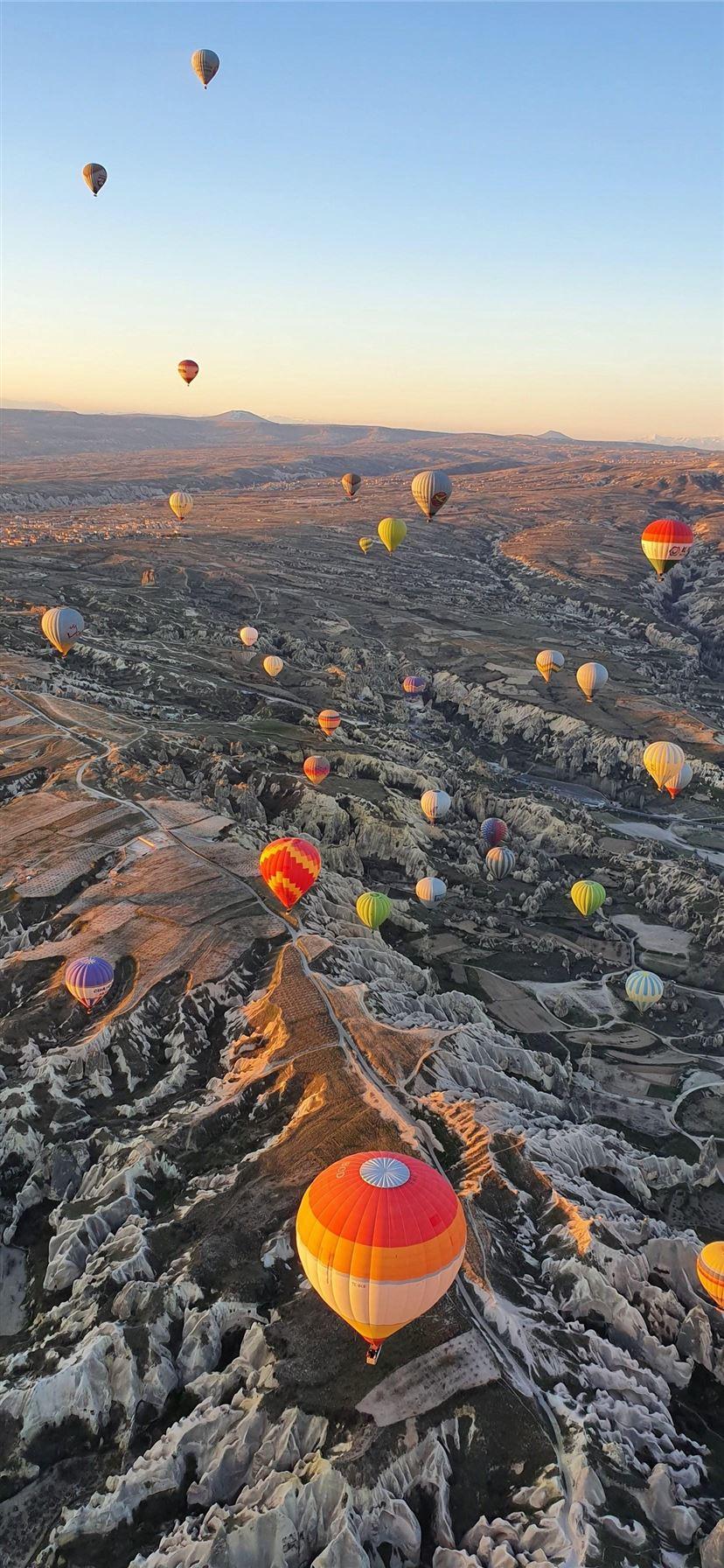 Hot Air Ballooning Taken On S10 Cappadocia Turkey Iphone 11 Wallpapers Free Download