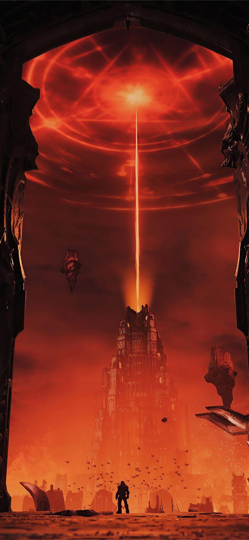 Doom Eternal Video Game 4k Iphone 11 Wallpapers Free Download