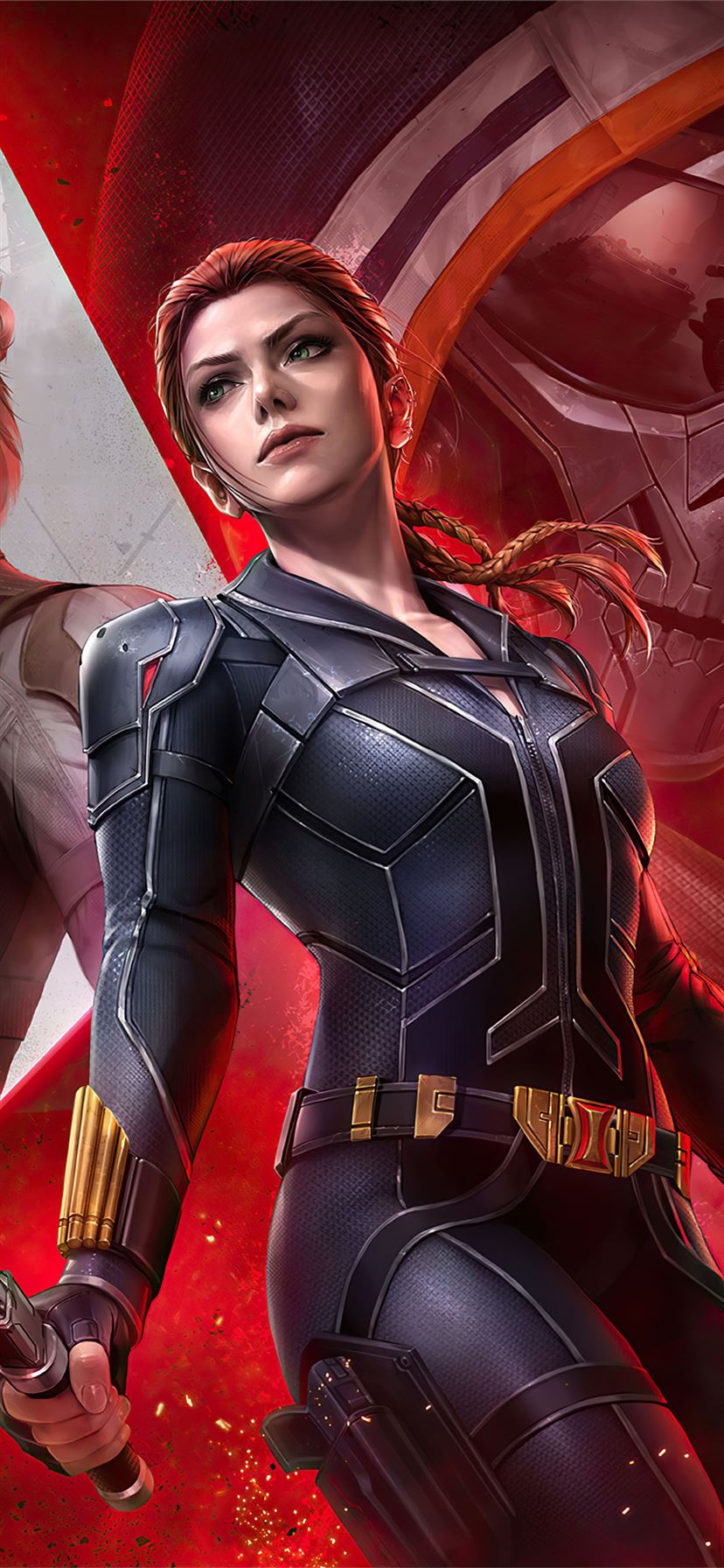 Marvel Future Fight Black Widow Team 4k Iphone 11 Wallpapers Free Download