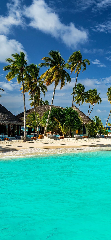 Maldives 5k 4k 8k Indian Ocean Best iPhone 12 Wallpapers ...