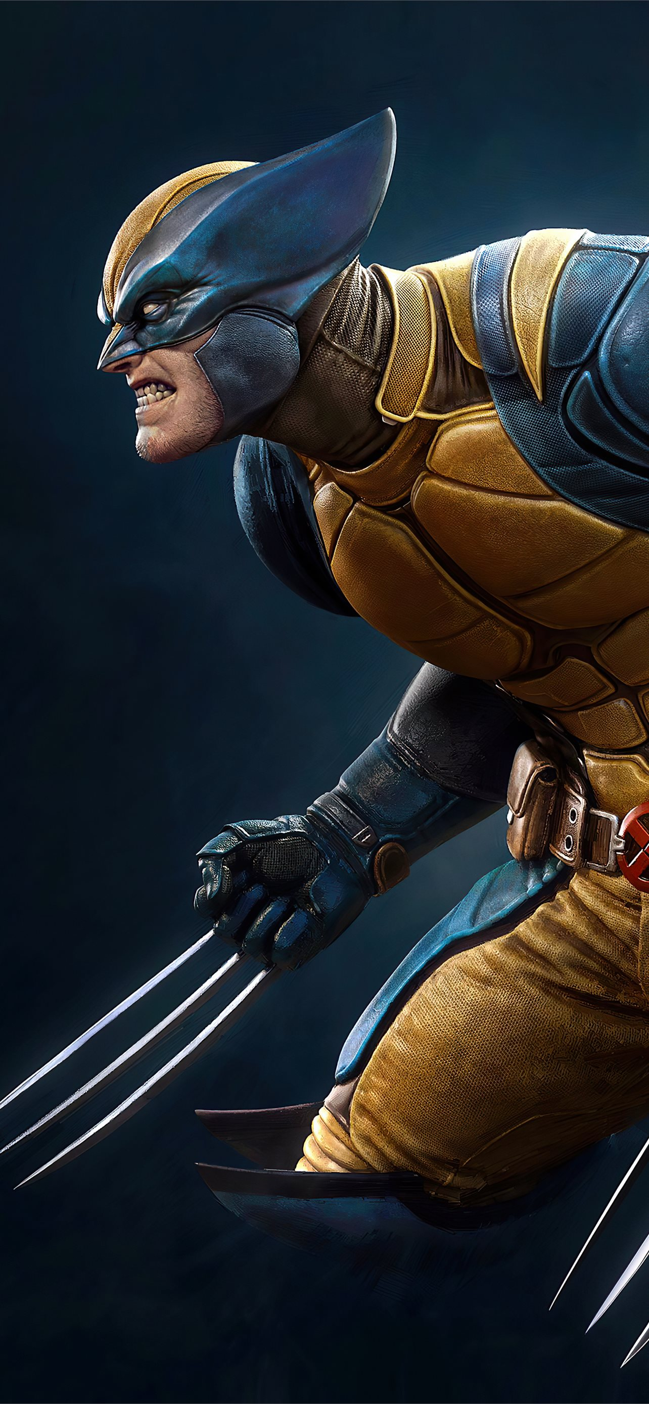 Fortnite Wolverine 4k Iphone 12 Wallpapers Free Download