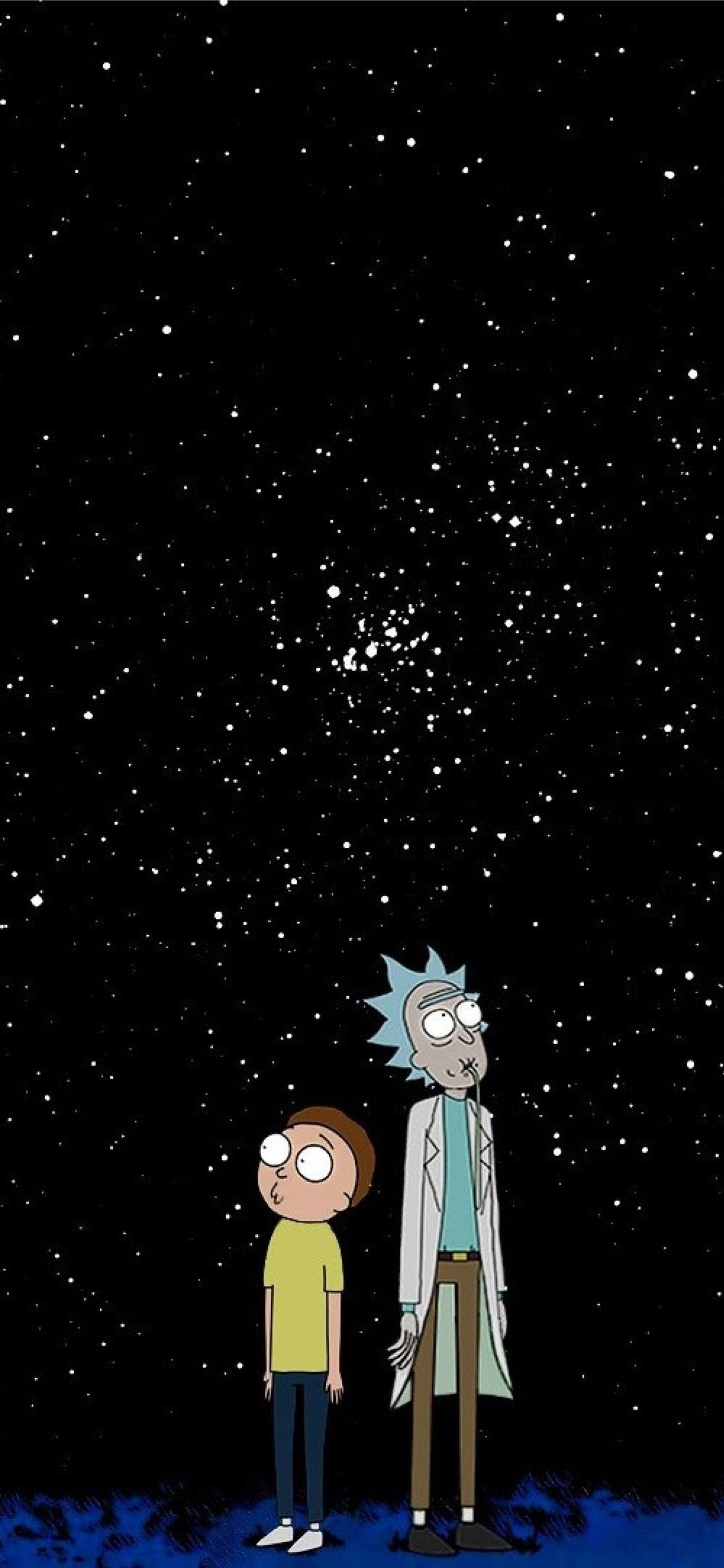 Best Rick and morty iPhone HD Wallpapers   iLikeWallpaper