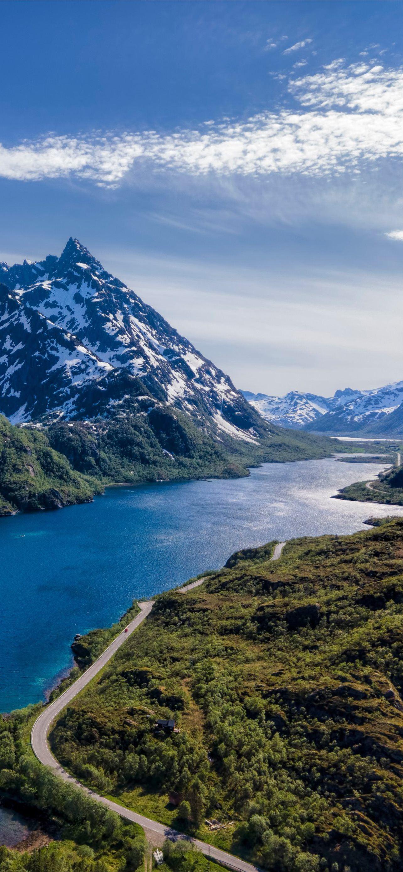 Mountains In Lofoten Norway 4k Ultra Hd Id 6487 Iphone Wallpapers Free Download
