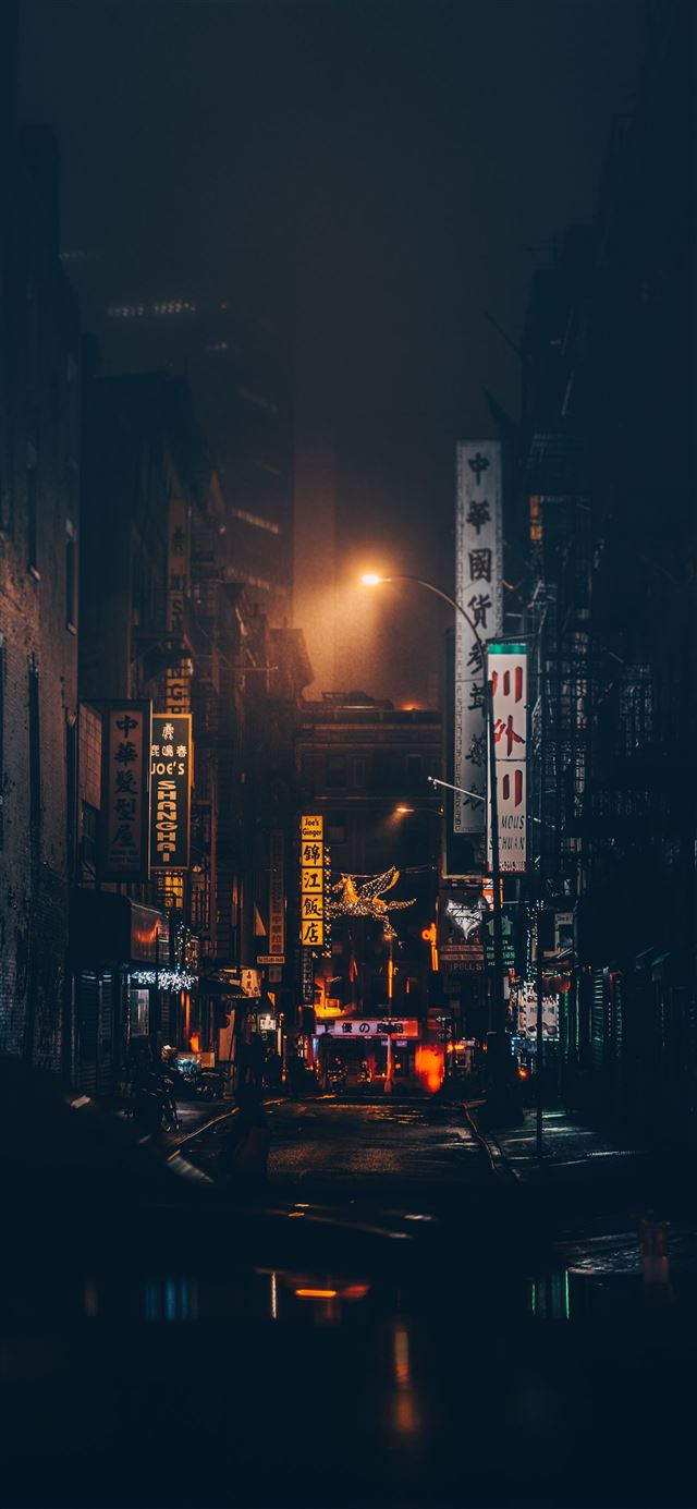 Chinatown  New York  United States iPhone 12 wallpaper