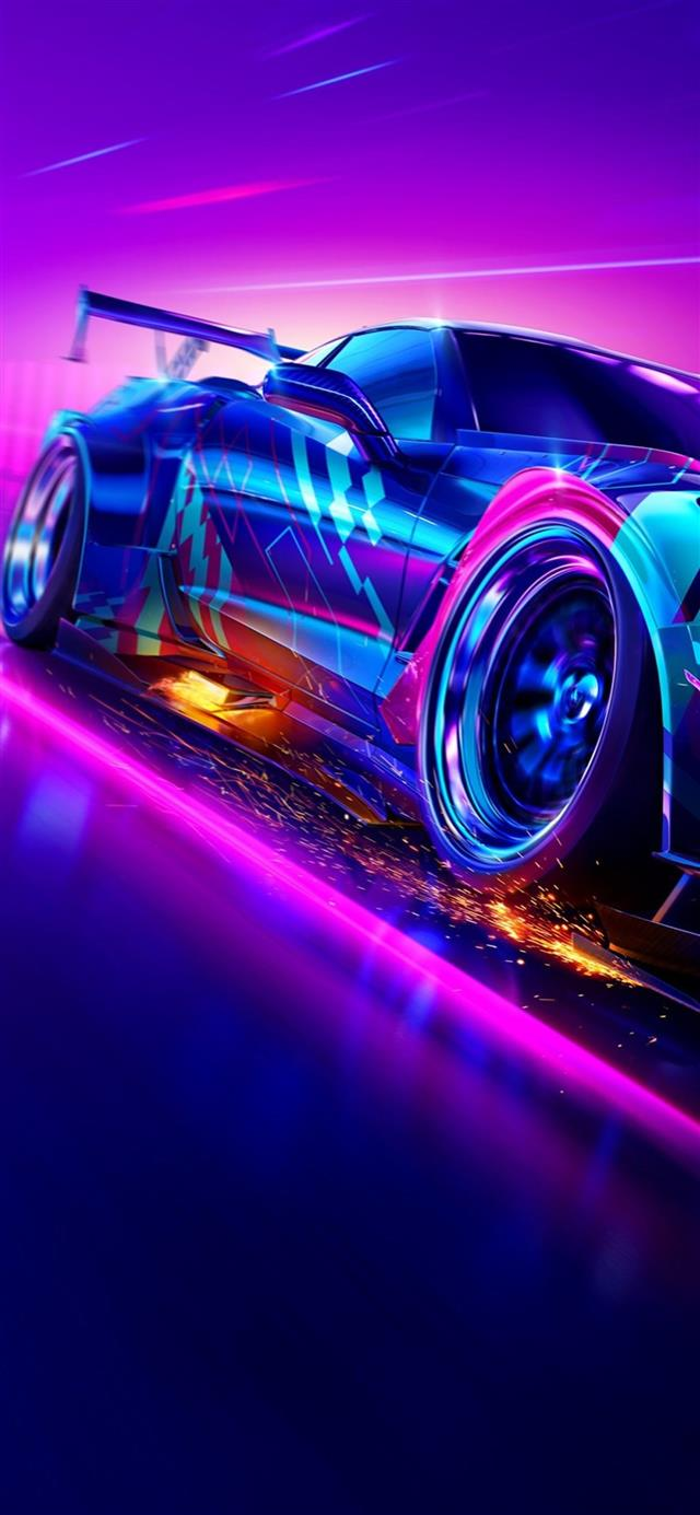 need for speed heat 2019 4k iPhone 12 wallpaper