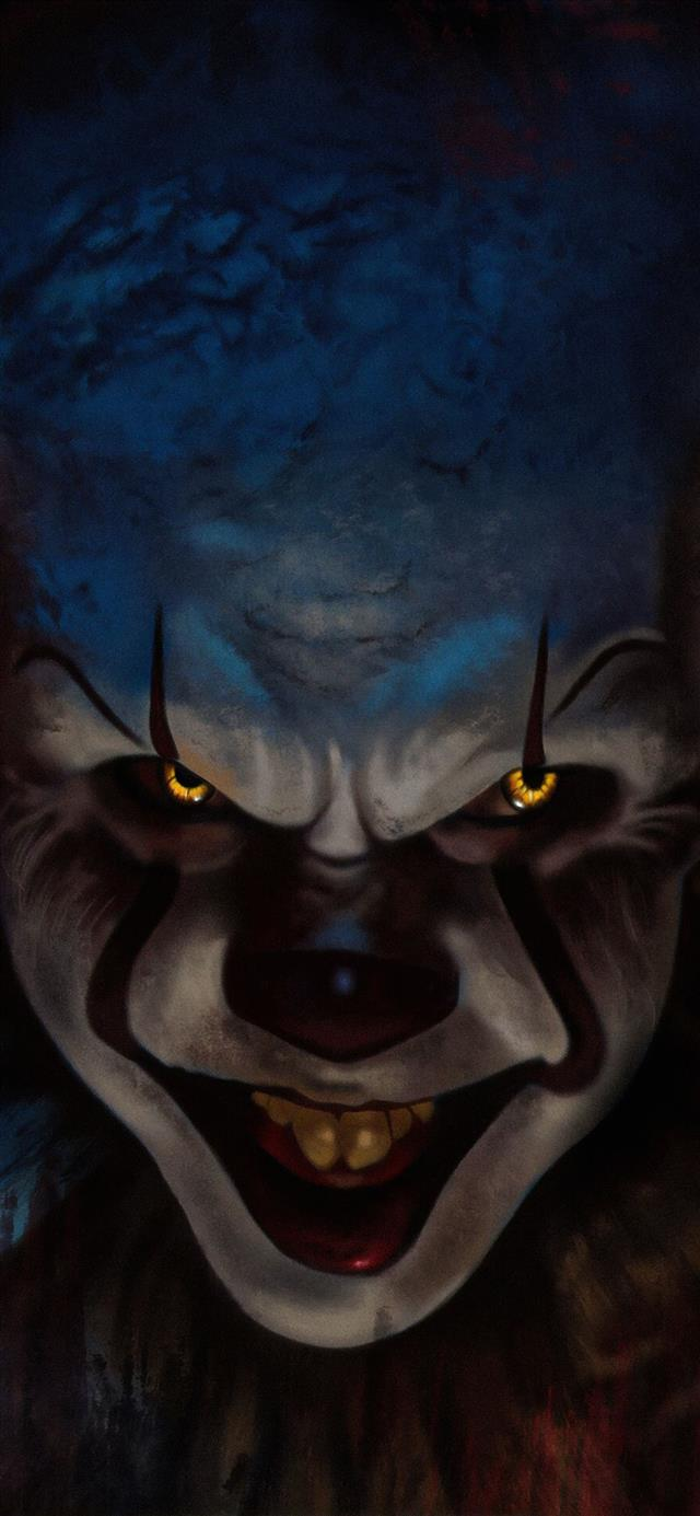 pennywise 4k 2019 iPhone 12 wallpaper