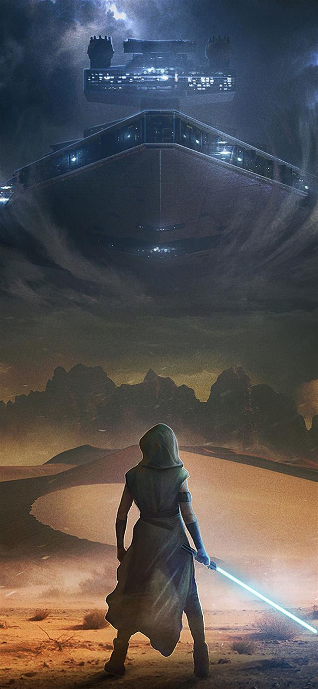 star wars the rise of skywalker arts iPhone 12 wallpaper