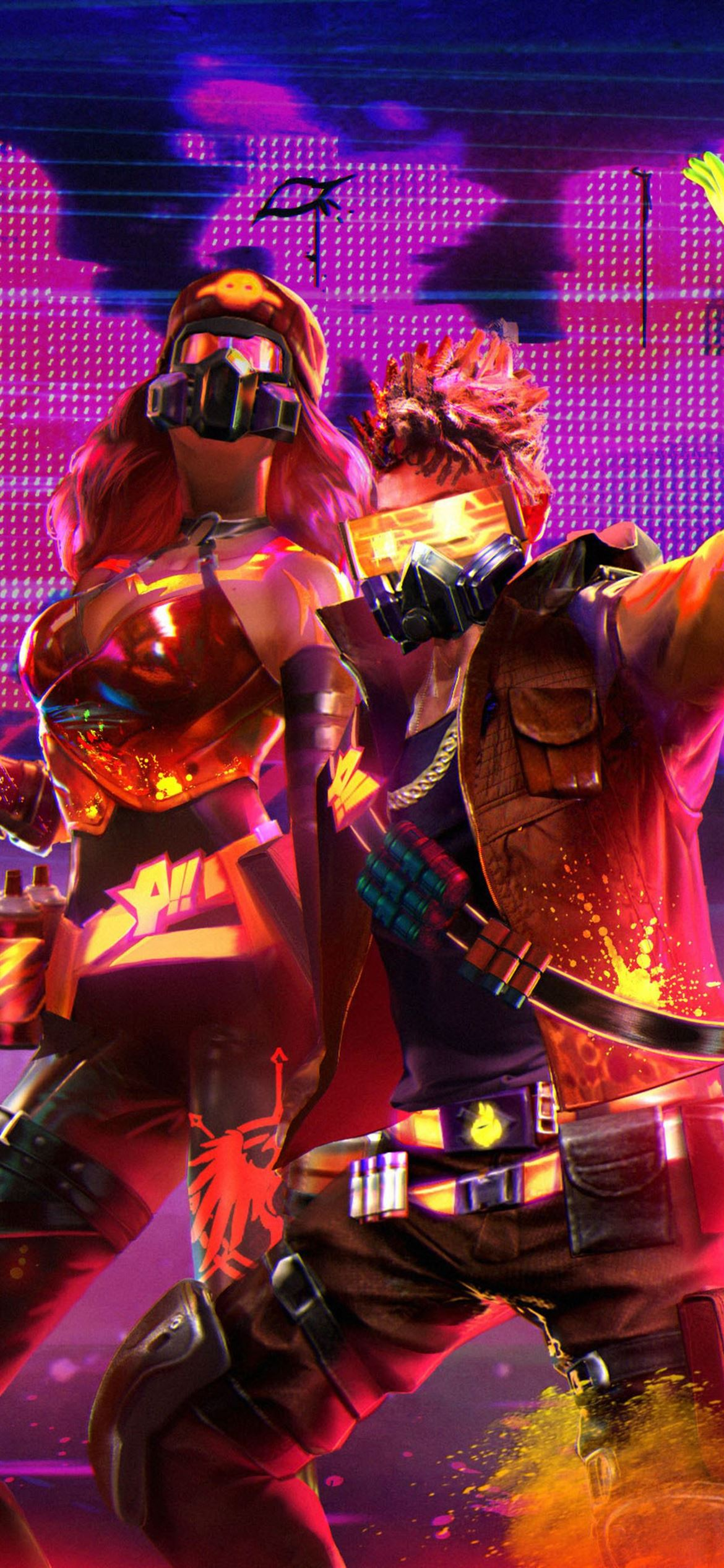 Garena Free Fire 4k Game Iphone 12 Wallpapers Free Download