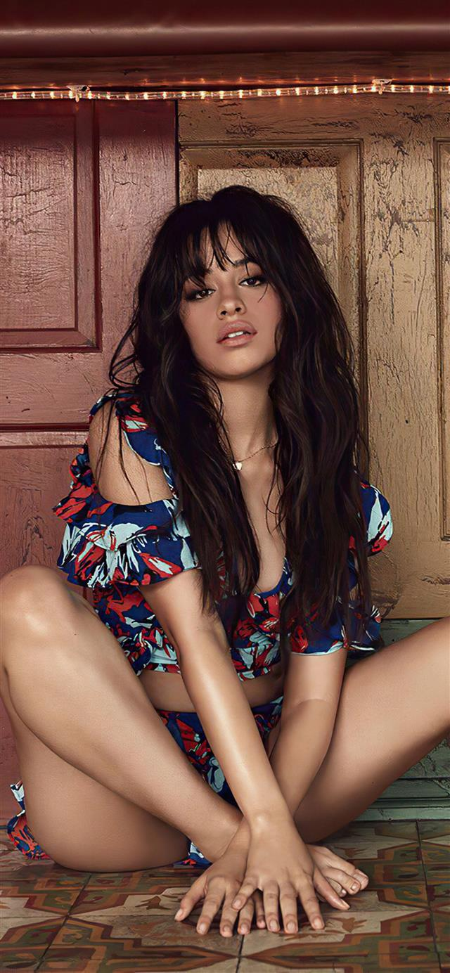 camila cabello singer 4k iPhone 12 wallpaper
