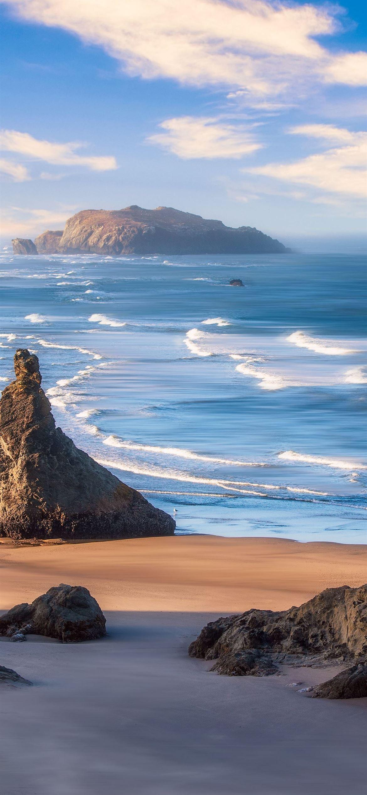 oregon coast 5k iPhone 12 Wallpapers Free Download