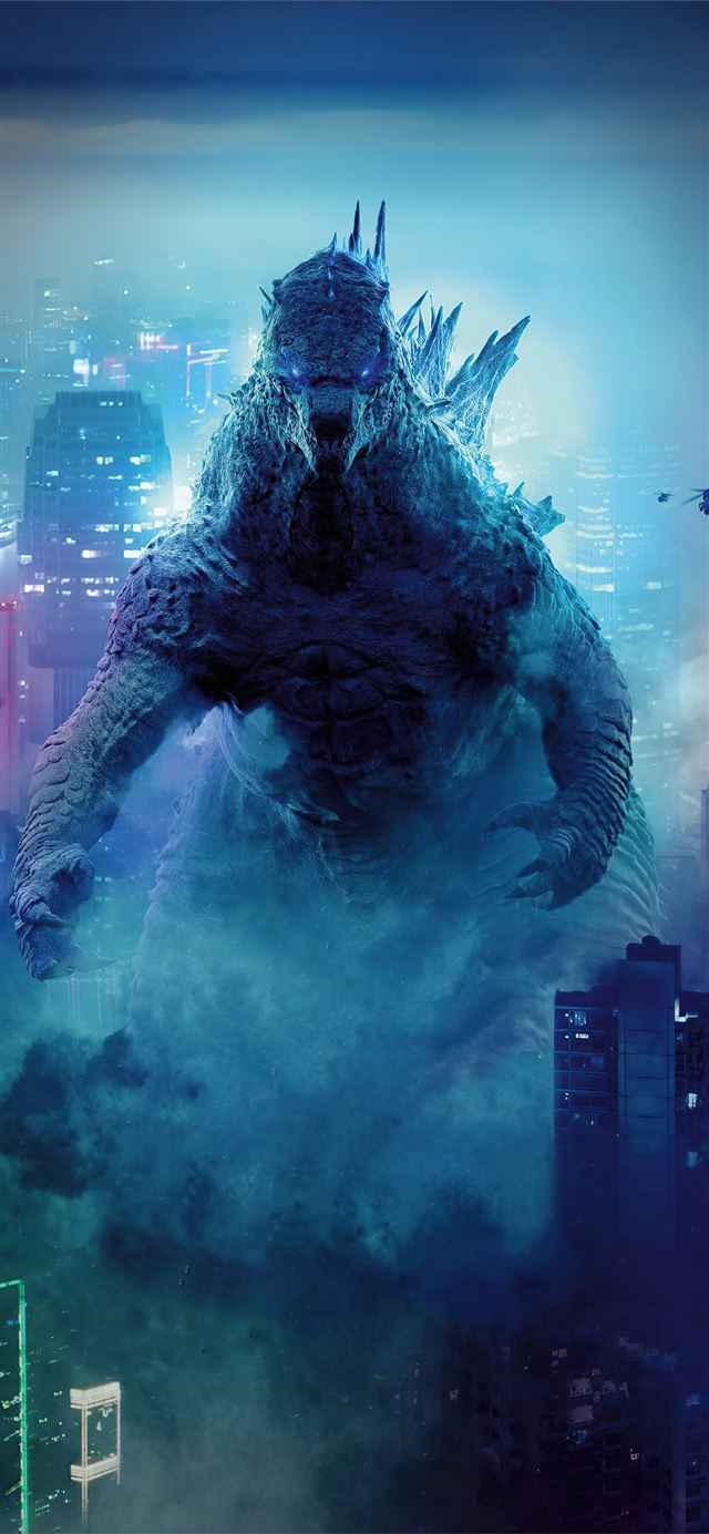 godzilla king of the ocean iPhone 12 wallpaper