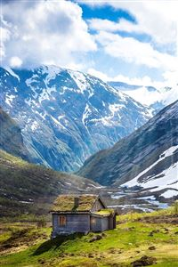 Geiranger Norway iPhone 4s wallpaper