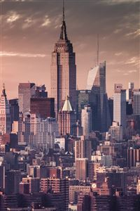 New York Vintage Effect iPhone 4s wallpaper