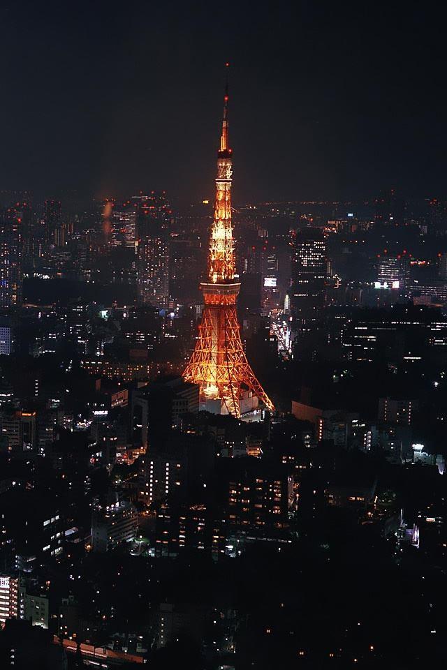 Night In Paris IPhone 4s Wallpaper