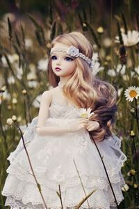 Cute Doll Bride iPhone 4s wallpaper