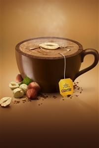 Chocolate Tea iPhone 4s wallpaper