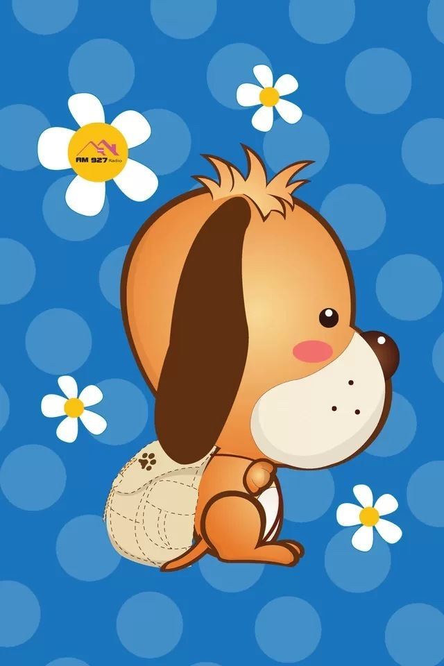 Cartoon Dog Iphone 4s Wallpapers Free Download