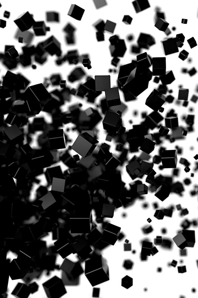 Black Cube Iphone 4s Wallpaper Download Iphone Wallpapers Ipad
