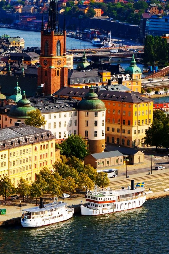 Stockholm Sweden Iphone 4s Wallpapers Free Download