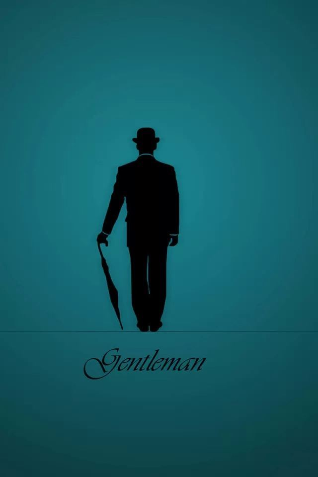 Gentleman iPhone 4s wallpaper