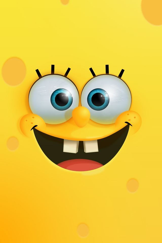 SpongeBob iPhone 4s wallpaper