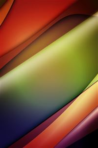 Line Glow Waves iPhone 4s wallpaper