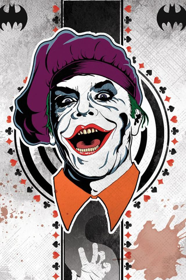 Joker Card iPhone 4s wallpaper