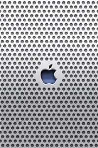 Apple Metal Hd iPhone 4s wallpaper
