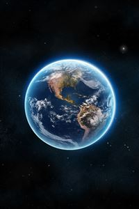 Earth The Blue Planet iPhone 4s wallpaper