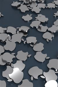 Apple Badges iPhone 4s wallpaper