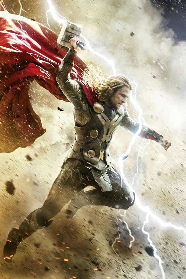Thor 2 Dark World Iphone 4s Wallpapers Free Download