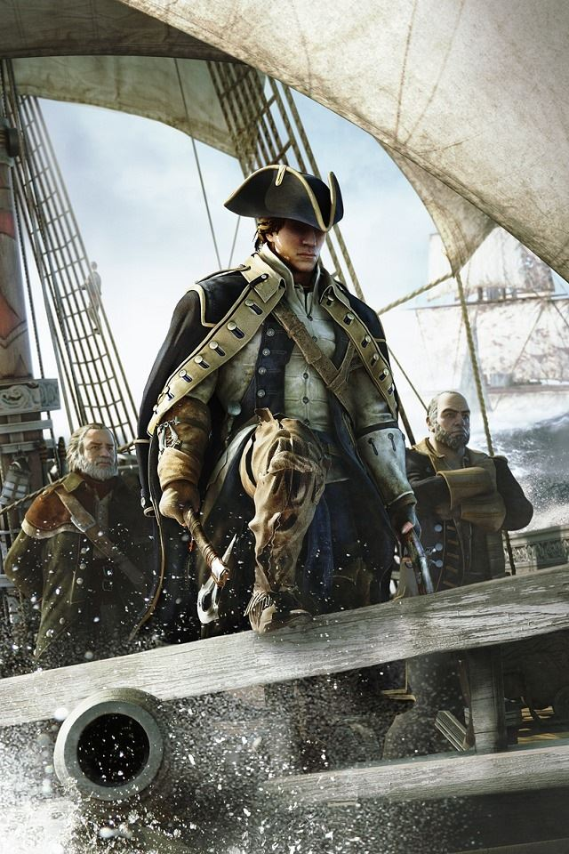 Assassin S Creed 4 Black Flag Iphone 4s Wallpapers Free Download