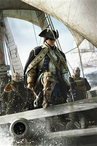 Assassin's Creed 4 black flag iPhone 4s wallpaper