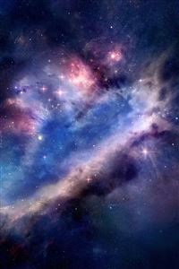 Bright Space iPhone 4s wallpaper