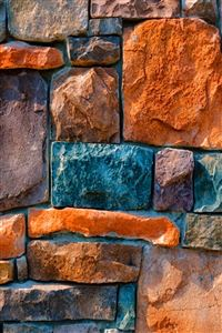 Abstract Stone Wall iPhone 4s wallpaper