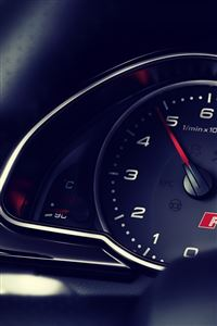Audi Rs5 Dashboard iPhone 4s wallpaper