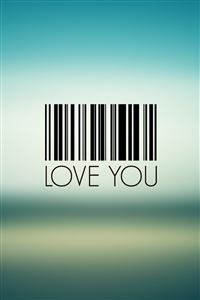 I love you iPhone 4s wallpaper