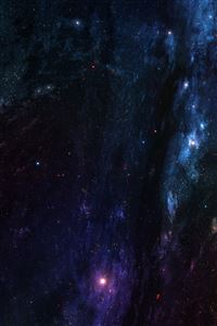 Planet In Deep Space iPhone 4s wallpaper