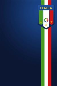Italy Football Crest iPhone 4s wallpaper