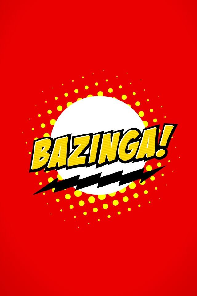 the big bang theory bazinga iphone 4s wallpaper download | iphone