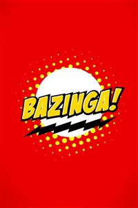 The Big Bang Theory Bazinga iPhone 4s wallpaper
