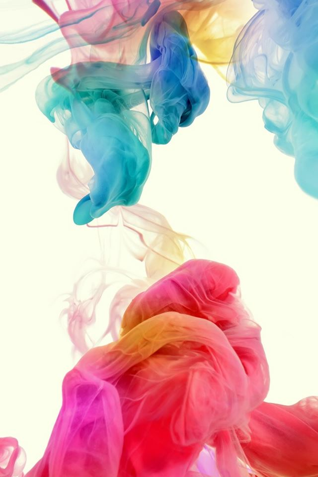 Dancing Ink Smoke iPhone 4s wallpaper