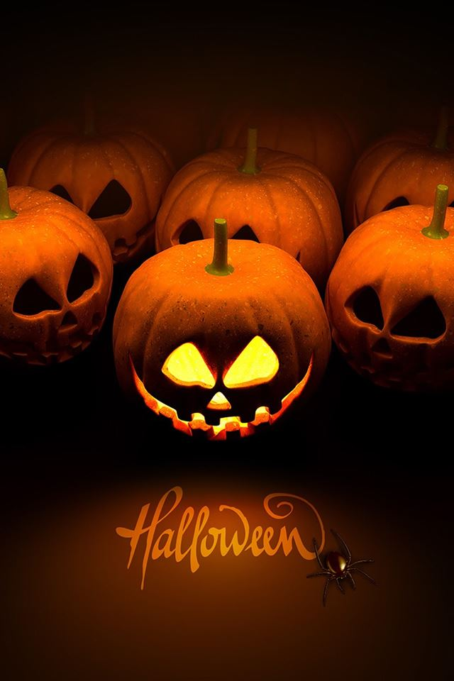 Happy Halloween iPhone 4s wallpaper