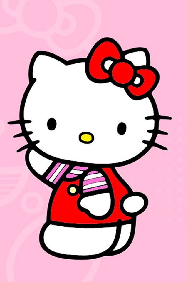 Cute Hello Kitty iPhone 4s Wallpapers Free Download
