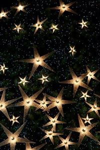 Abstract Christmas Sparkle Star Pattern iPhone 4s wallpaper